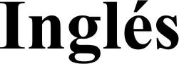 Cartel Inglés